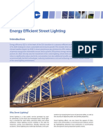 Factsheet Street Lighting