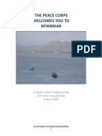 Myanmar Welcome Book Peace Corps 2016