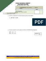 Preparatoria Matematica Decimo - Cuestionario