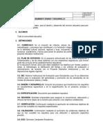 Ga-pr-001 Procedimiento Diseño y Desarrollo