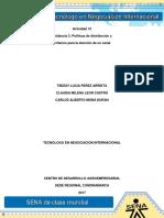 Evidencia 2 Act 12 Políticas de Distribución y Criterios Para La Elección de Un Canal