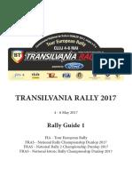 Transilvania Rally Ghid