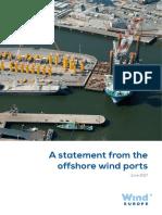 Offshore Wind Ports Statement