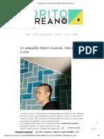 Un Pequeño Tesoro Musical, Más Allá Del K-pop