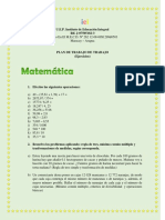 Plan de Trabajo Profa. Massiel Páez 5to B