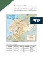 Características Físicas y Socioeconómicas Del País