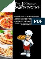 Proyecto Final [Restaurant - Pizzeria VENZIA]