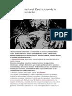 Judería Internacional- Destructores de La Civilización Occidental - 6.Abril.2017