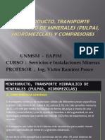 4.- Mineroducto_2c Transporte Hidraulico de Minerales (Pulpas )Mod