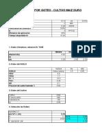 242317634 Diseno de Riego Por Goteo Excel Xls