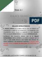 3.1.Enlace Quimico