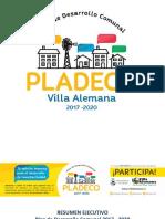 Resumen Ejecutivo PLADECO Villa Alemana 2017 - 2020