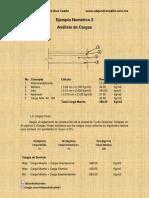 Distribuciones Deseables a Los Pesos de Cada Nivel Ejemplo