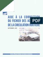aide à la correction du fichier des accidents de la circulation routière.pdf