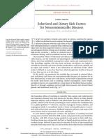 Behav Risk Factors for Noncommicable Diseases NEJM Review