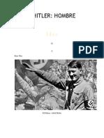Adolf Hitler Hombre de Paz