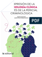 Criminologia Clinica Desde La Pericial criminológica