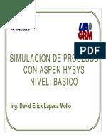 Simulación de Procesos Con ASPEN HYSYS INEGAS8