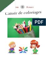 Cahier Coloriage