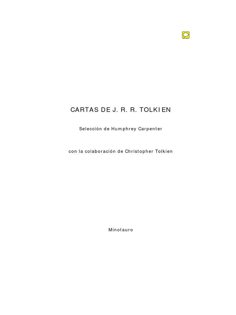 125968529 Tolkien J R R Carpenter Humphrey Cartas J R R Tolkien ...