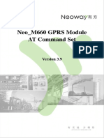 Neoway M660 at Command Set V3 9