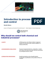 Les 01 Introduction to Dynamics and Control of Chemical Processes
