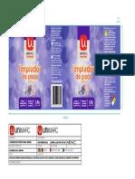 UNIMARC Limpiador de Piso 1,8L Lavanda Tz