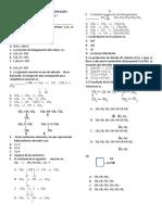 Examen Tipo Icfes Obtencion y Propiedades Alcanos