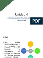 Unidad 4_a HERENCIA, CLASES ABSTRACTAS, INTERFACES Y POLIMORFISMO. UML