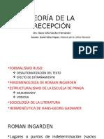 Estética de La Recepción