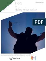 Formation Direction d'Ensembles Musicaux 2017