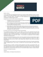 NRA Open Letter