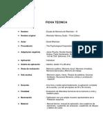 Ficha Tecnica Wms III