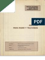 Vol. 56 Instalaciones Eléctricas Domiciliarias Antenas para Radio y Televisión