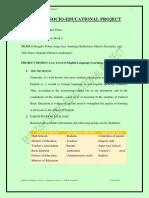 Collaborative Work 2 - LFA Project Design