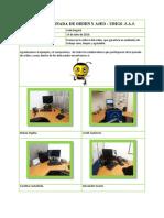 Informe Jornada de Orden y Aseo PDF