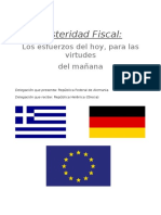 Austeridad Fiscal Termin
