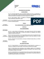 Reglamento Electoral Sitragor-ll 040110