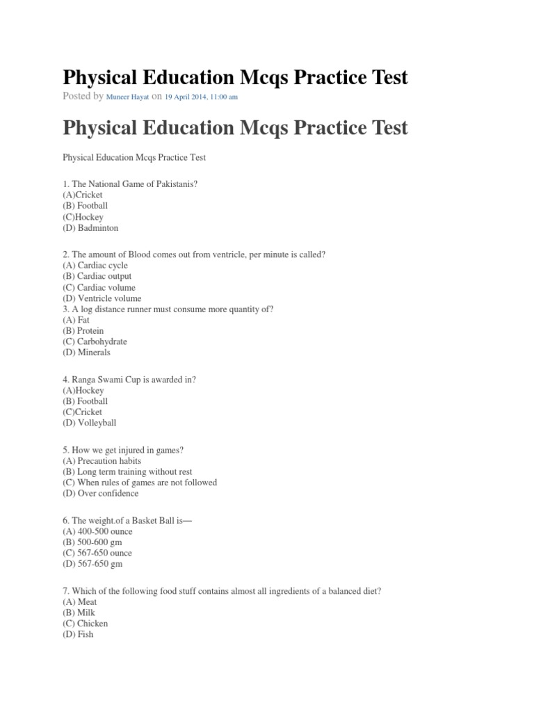 Physical education mcqs practice tests past papers solveddocx1 physical education mcqs practice tests past papers solveddocx1 heart valve muscle altavistaventures Image collections