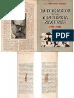 Hernández Arregui, J. J. - La Formación de La Conciencia Nacional 1930-1960, Hachea, 1960