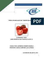 Exportacion Tomate Saladette