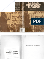 Introduccion Al Talmud (Adin Steinsaltz)