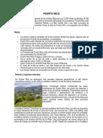 Trabajo de Ecologia, Puerto Rico 2