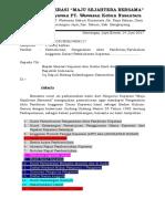 1. Surat Permohonan Untuk Kementerian