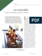 Matéria Sobre Aromaterapia - Esp.