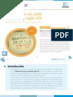 Historia de Un País - Movimiento Obrero. Capitulo 7