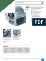 Especificaciones ventilador CBM