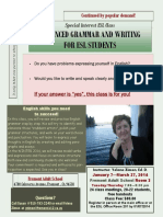 Grammar and Writing Winter 2014
