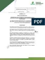 Acuerdo No. 013 Del 28 de Junio de 2017 - Plan de Desarrollo 2017-2026