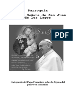 Catequesis del papa francisco sobrte la figura del padre en la familia.docx